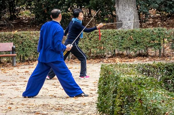 How to practice Tai Chi alone - Step 1