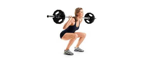 How to do barbell squats - Step 4