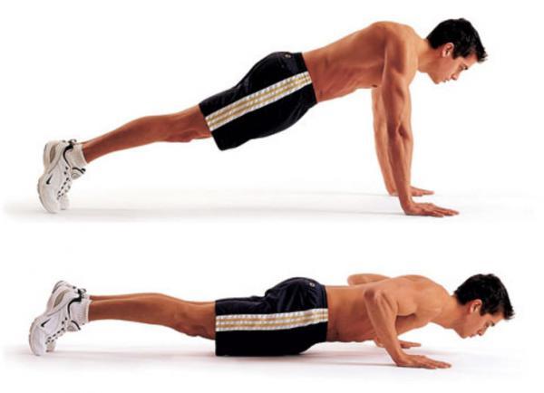 How to do push-ups correctly - Step 4