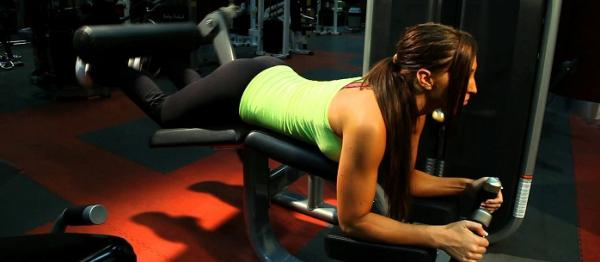 How to do a leg workout - Step 4