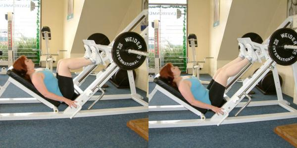 How to do a leg workout - Step 6