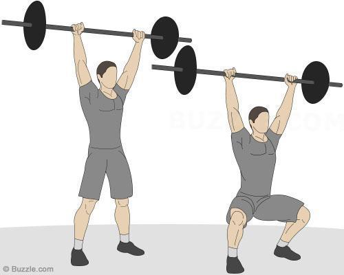 How to do squats for glutes - Step 5
