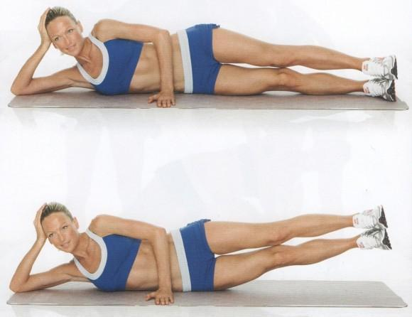 Hip Weight Loss Exercises - Step 3