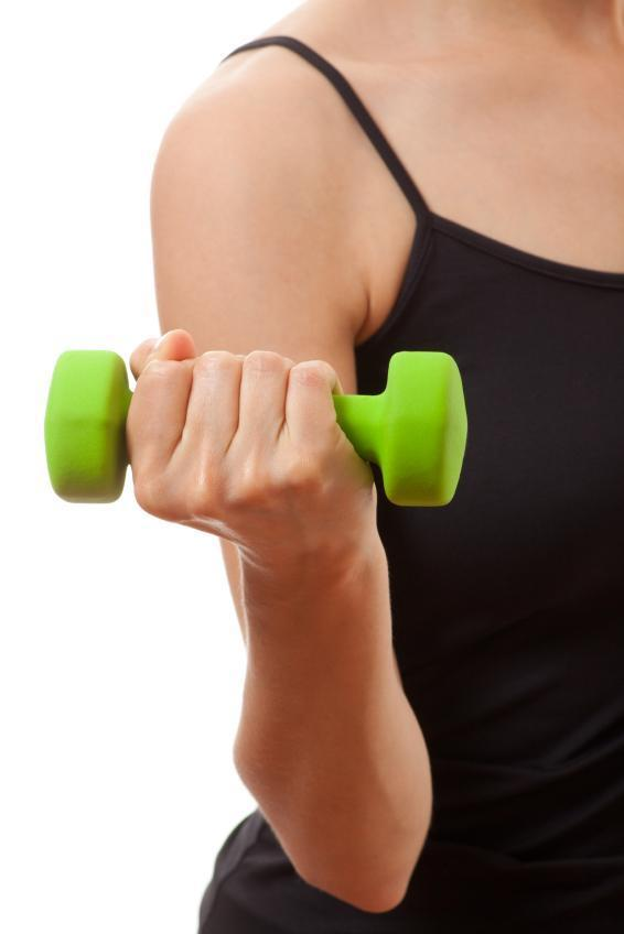 How to have muscular arms - Step 2