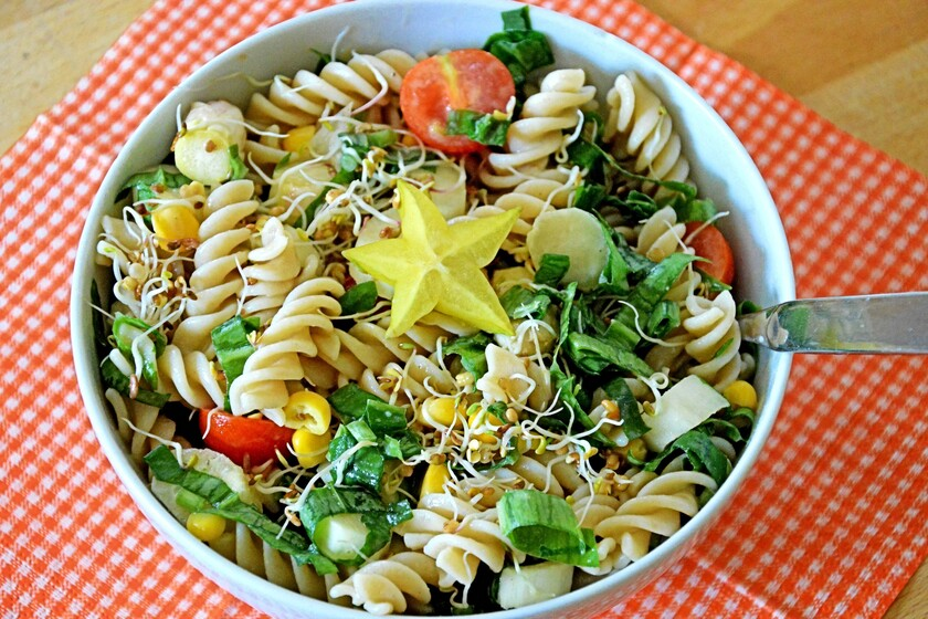 The ingredients that you can use to accompany your pasta if you want to achieve healthy dishes