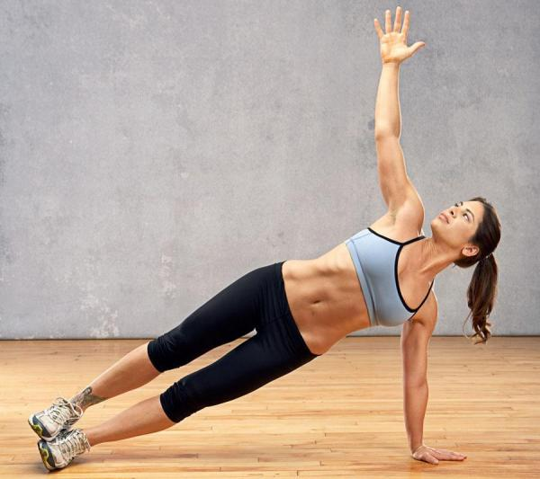 How to do isometric sit-ups - Step 2