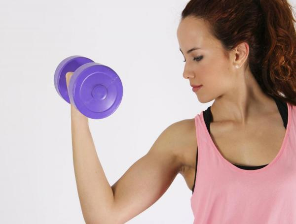 Exercises to lose weight in your arms - Step 4