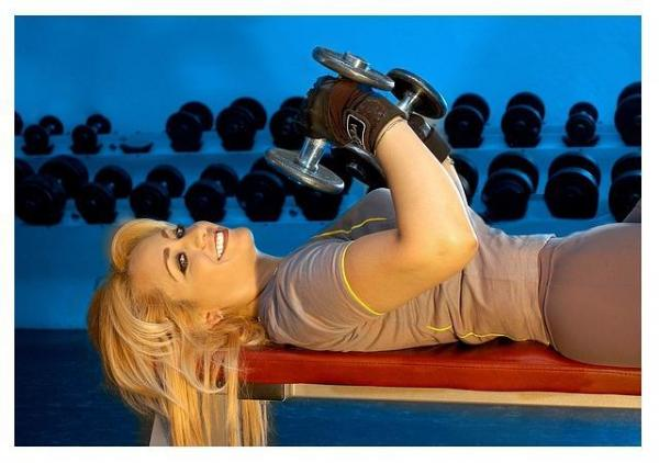 Exercises to lose weight in your arms - Step 3