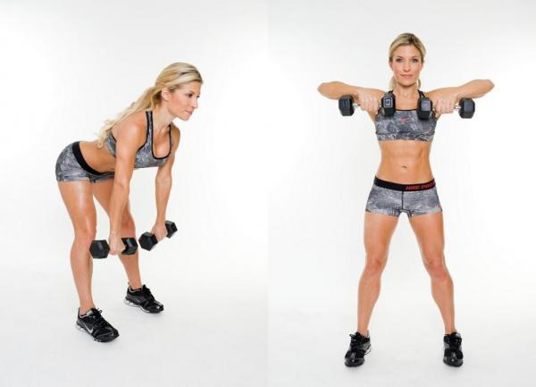Exercises to lose weight in your arms - Step 7