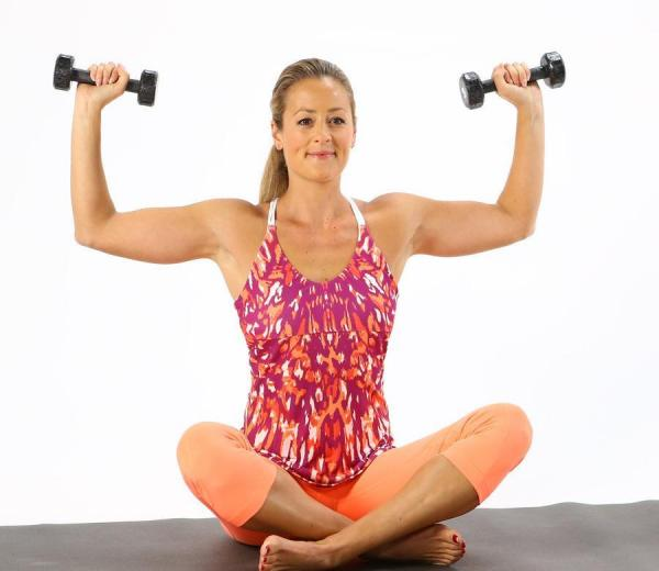 Exercises to lose arms