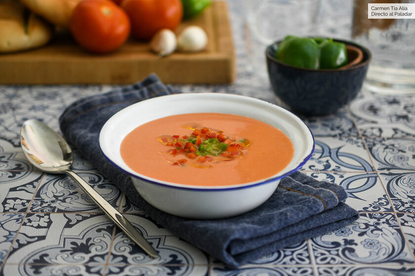 Gazpacho, Russian salad … how to take the refreshing summer dishes that are lighter and more satisfying