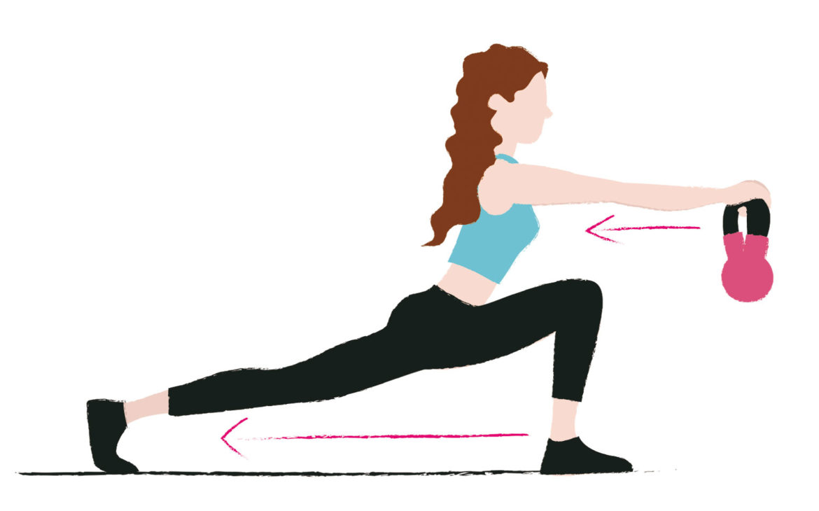 3 kettlebell exercises to tone your legs and glutes