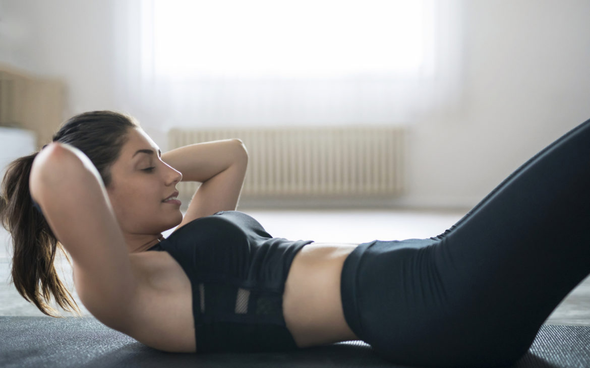 How to do situps at home