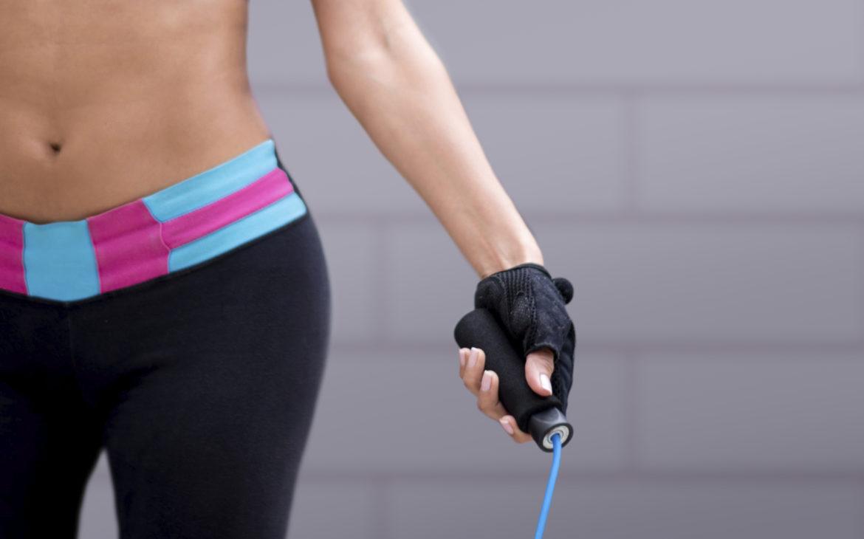 Rope training to burn calories